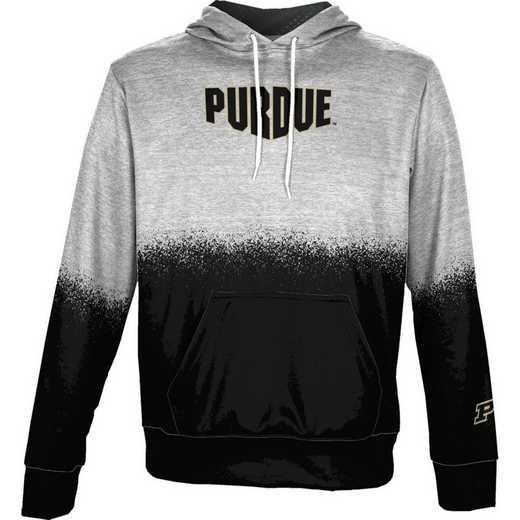Purdue University Boys' Pullover Hoodie, School Spirit Sweatshirt (Spray)