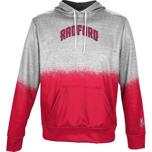 Radford University Boys' Pullover Hoodie, School Spirit Sweatshirt (Spray)