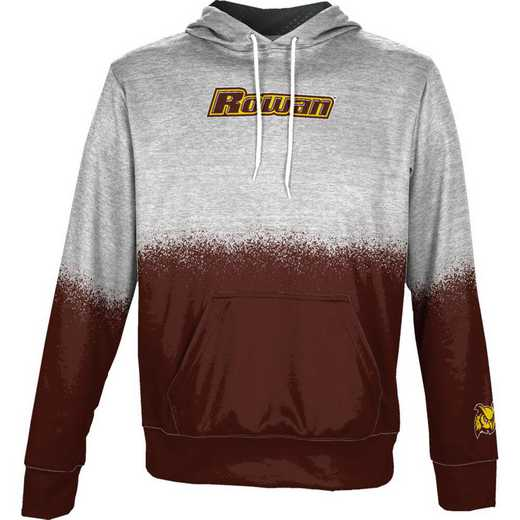 Rowan University Boys' Pullover Hoodie, School Spirit Sweatshirt (Spray)