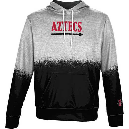 San Diego State University Boys' Pullover Hoodie, School Spirit Sweatshirt (Spray)