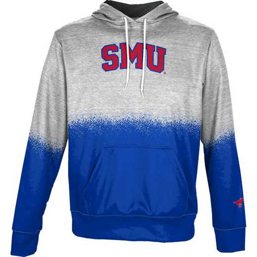 Southern Methodist University Boys' Pullover Hoodie, School Spirit Sweatshirt (Spray)