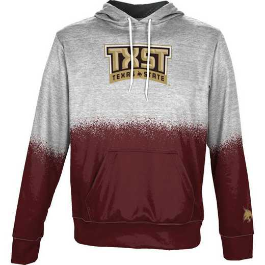 Texas State University Boys' Pullover Hoodie, School Spirit Sweatshirt (Spray)