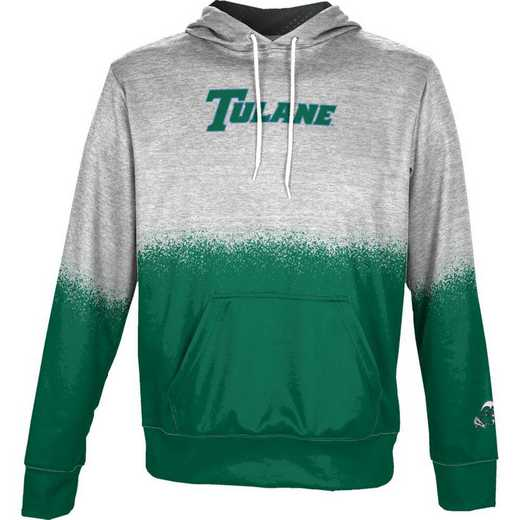 Tulane University Boys' Pullover Hoodie, School Spirit Sweatshirt (Spray)