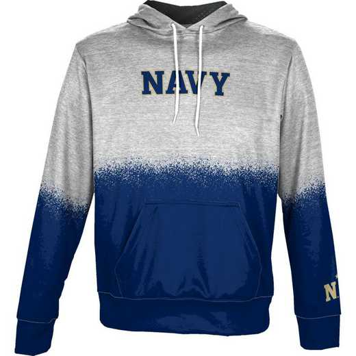 United States Naval Academy Boys' Pullover Hoodie, School Spirit Sweatshirt (Spray)