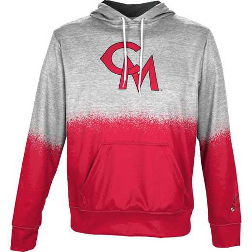 University of Central Missouri Boys' Pullover Hoodie, School Spirit Sweatshirt (Spray)