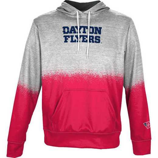 University of Dayton Boys' Pullover Hoodie, School Spirit Sweatshirt (Spray)