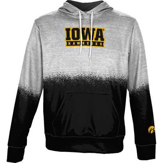 University of Iowa Boys' Pullover Hoodie, School Spirit Sweatshirt (Spray)