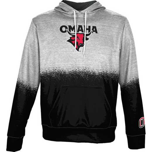 University of Nebraska at Omaha Boys' Pullover Hoodie, School Spirit Sweatshirt (Spray)