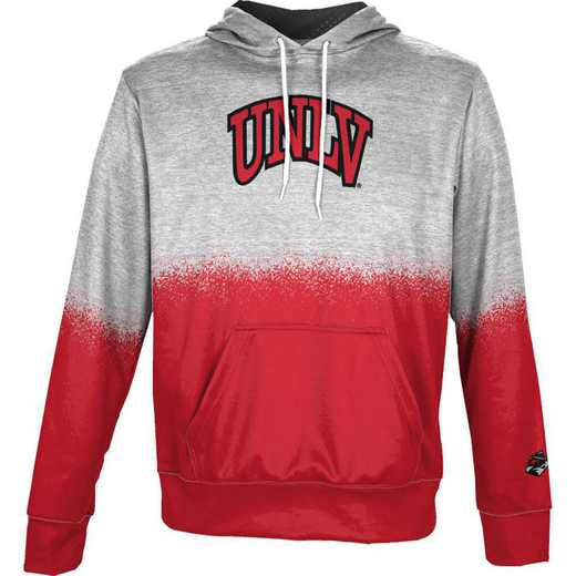 University of Nevada Las Vegas Boys' Pullover Hoodie, School Spirit Sweatshirt (Spray)