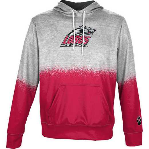 University of New Mexico Boys' Pullover Hoodie, School Spirit Sweatshirt (Spray)