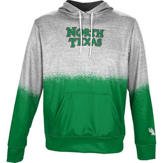 University of North Texas Boys' Pullover Hoodie, School Spirit Sweatshirt (Spray)