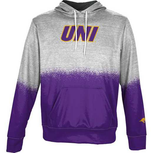 University of Northern Iowa Boys' Pullover Hoodie, School Spirit Sweatshirt (Spray)