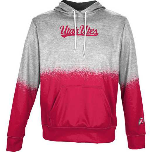 University of Utah Boys' Pullover Hoodie, School Spirit Sweatshirt (Spray)