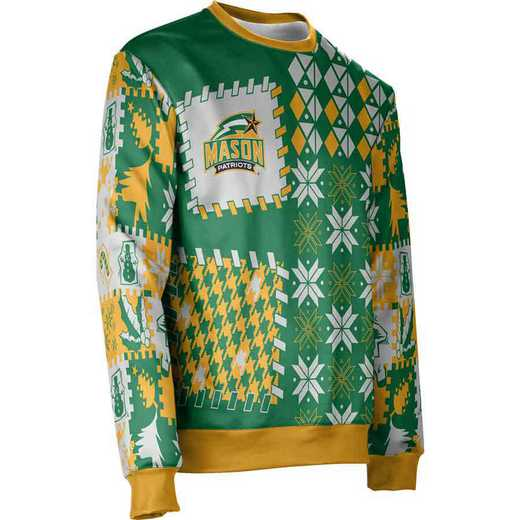 ProSphere George Mason University Ugly Holiday Unisex Sweater - Tradition