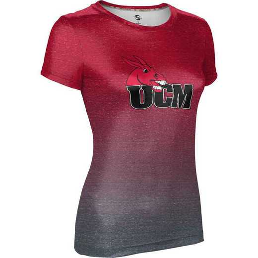 ProSphere University of Central Missouri Girls' Performance T-Shirt (Ombre)