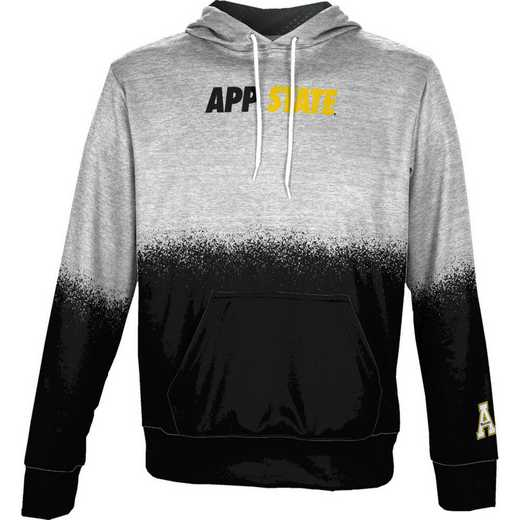 Appalachian State University Boys' Pullover Hoodie, School Spirit Sweatshirt (Spray)