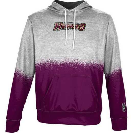 Bloomsburg University Boys' Pullover Hoodie, School Spirit Sweatshirt (Spray)