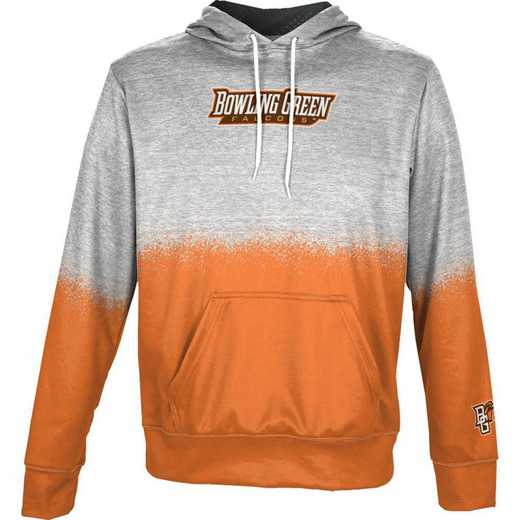 Bowling Green State University Boys' Pullover Hoodie, School Spirit Sweatshirt (Spray)