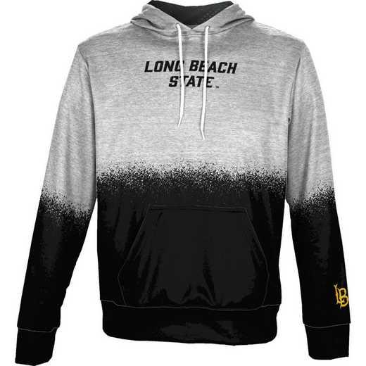 California State University Long Beach Boys' Pullover Hoodie, School Spirit Sweatshirt (Spray)
