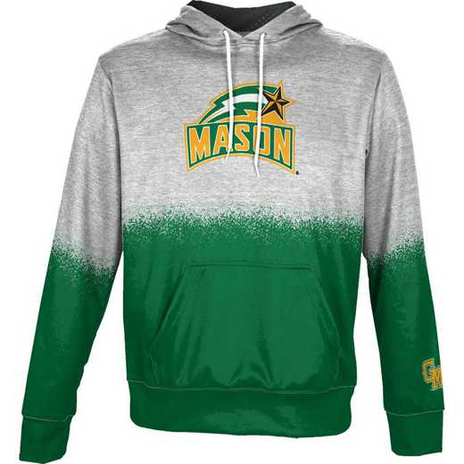George Mason University Boys' Pullover Hoodie, School Spirit Sweatshirt (Spray)