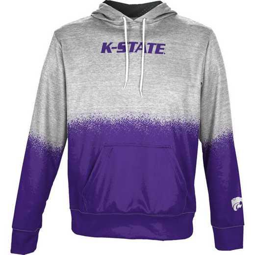 Kansas State University Boys' Pullover Hoodie, School Spirit Sweatshirt (Spray)