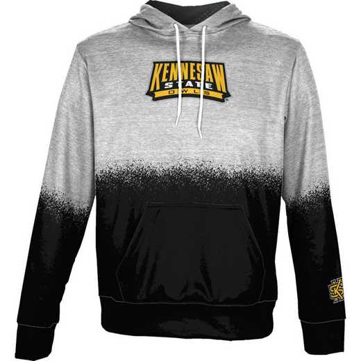 Kennesaw State University Boys' Pullover Hoodie, School Spirit Sweatshirt (Spray)
