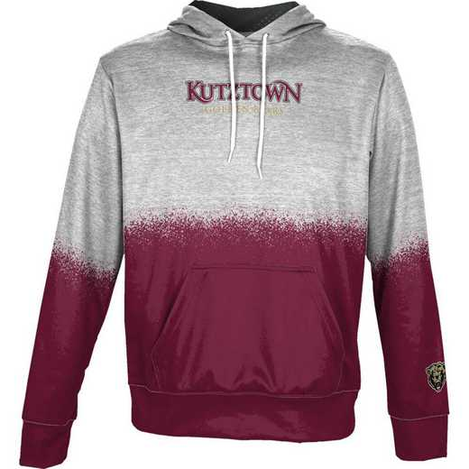 Kutztown University Boys' Pullover Hoodie, School Spirit Sweatshirt (Spray)