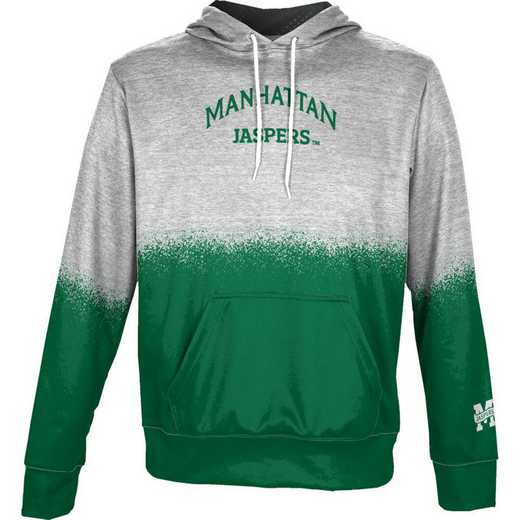Manhattan  Boys' Pullover Hoodie, School Spirit Sweatshirt (Spray)