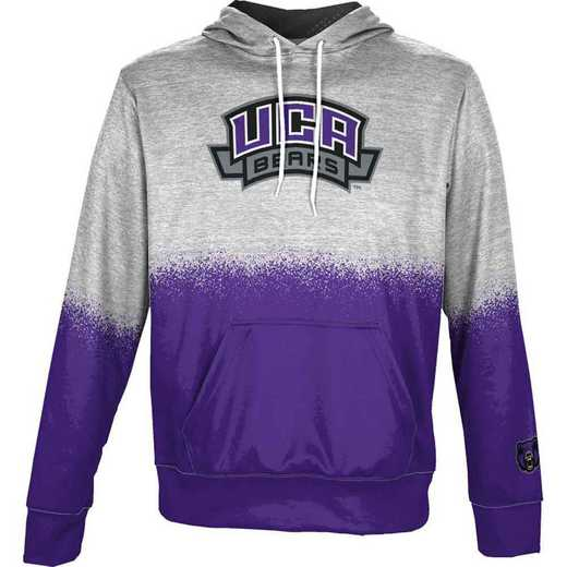 University of Central Arkansas Men's Pullover Hoodie, School Spirit Sweatshirt (Spray)