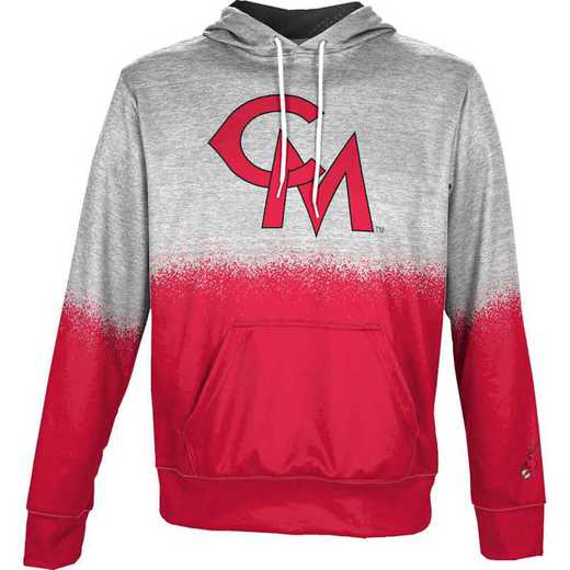 University of Central Missouri Men's Pullover Hoodie, School Spirit Sweatshirt (Spray)