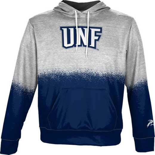 University of North Florida Boys' Pullover Hoodie, School Spirit Sweatshirt (Spray)