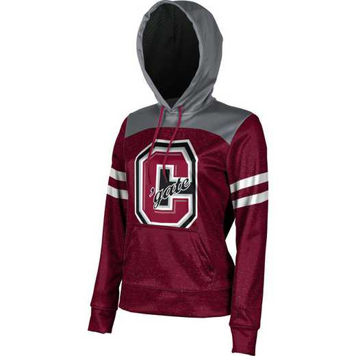 Colgate University Women's Pullover Hoodie, School Spirit Sweatshirt (Game Day)