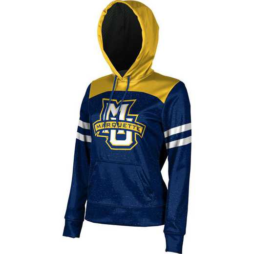 Marquette University Women's Pullover Hoodie, School Spirit Sweatshirt (Game Day)