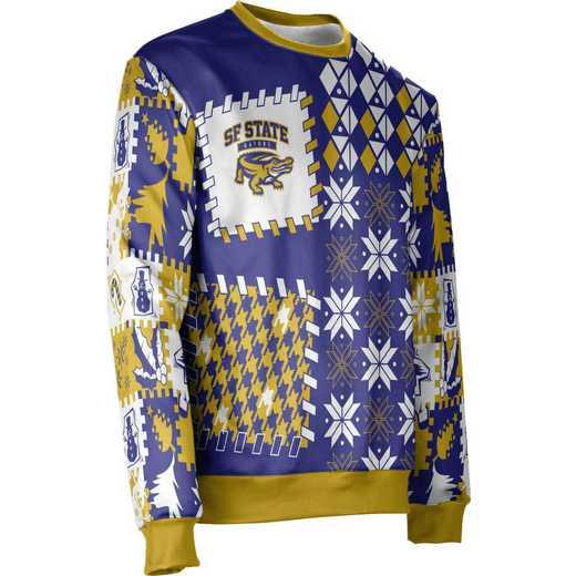 ProSphere San Francisco State University Ugly Holiday Unisex Sweater - Tradition
