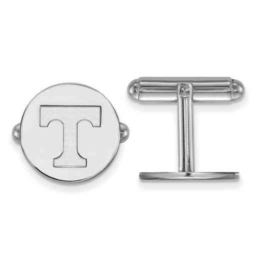 SS012UTN: LogoArt NCAA Cufflinks - Tennessee - White