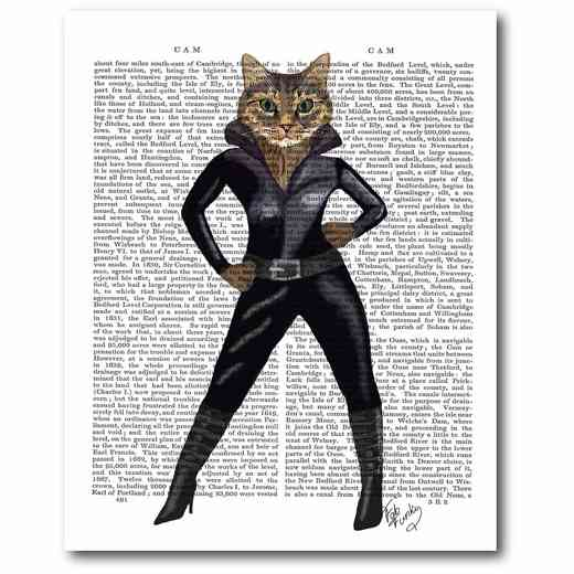 WEB-FA261: Catwoman Canvas 16x20
