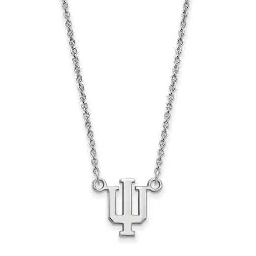 SS015IU-18: LogoArt Indiana Small Neck - White