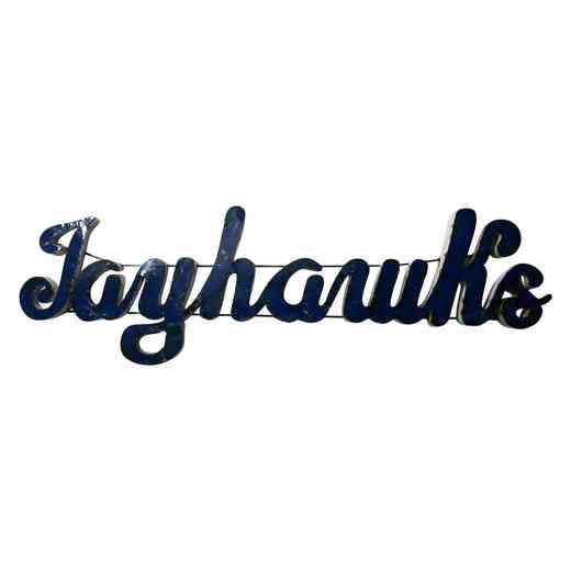 JAYHAWKSWD: Kansas Jayhawks Metal Décor
