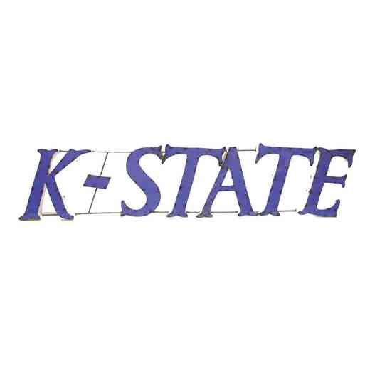 KSTATEWD: Kansas State Metal Décor