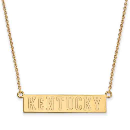 GP072UK-18: SS YGFP LogoArt Kentucky Small Neck - Yellow
