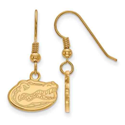 GP006UFL: SS YGFP LogoArt Florida XS Dangle Earrings - Yellow