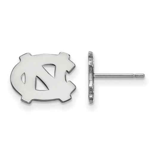 SS008UNC: 925 North Carolina XS Post Earrings