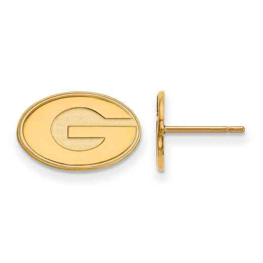 GP008UGA: 925 YGFP Georgia XS Post Earrings