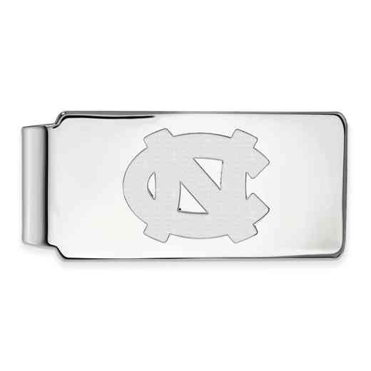 SS022UNC: 925 North Carolina Money Clip