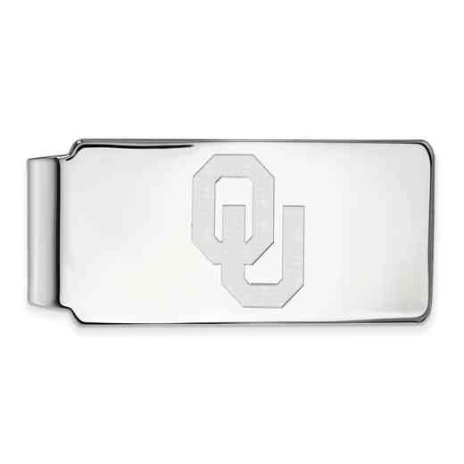 SS026UOK: 925 Oklahoma Money Clip