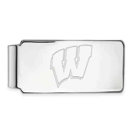 SS025UWI: 925 Wisconsin Money Clip