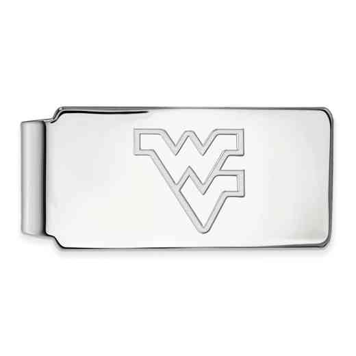 SS025WVU: 925 West Virginia Money Clip