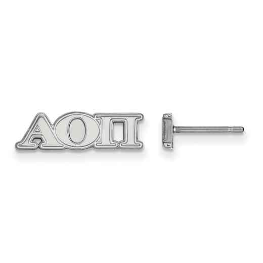 SS005AOP: 925 Logoart AOP Post Earrings