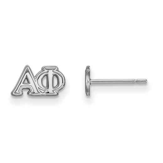 SS005APH: 925 Logoart APH Post Earrings