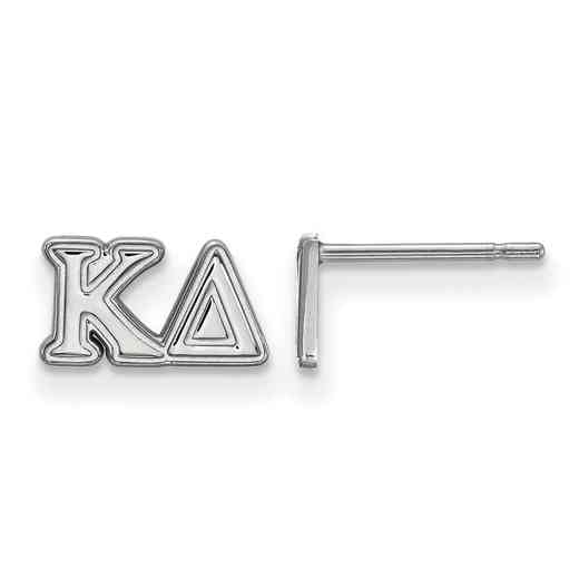 SS005KD: 925 Logoart KD Post Earrings